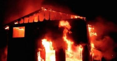 Another INEC office goes up in flames in Anambra