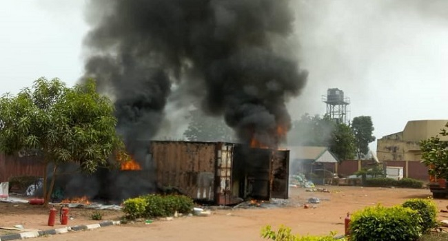 INEC says 4,695 card readers perished in Anambra fire