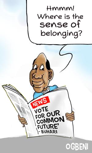 OGBENI vote for our common future Buhari