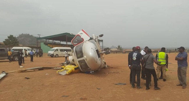 AIB releases report on cause of Osinbajo's crashed helicopter ...