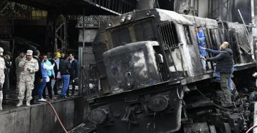 EGYPT: Death toll from train explosion rises to 20