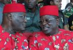 EBONYI: As Umahi receives Atiku, he says 'Buhari is my personal friend'