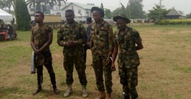 Police arrests 5 fake Army officers