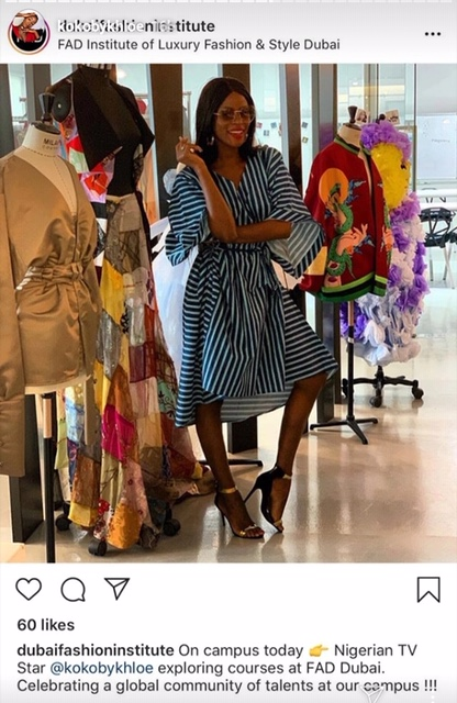 #BBNAIJA REUNION: Khloe in Dubai to chase her dream after revealing she felt betrayed by former housemates