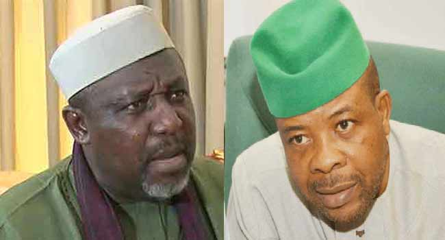 IMO: Okorocha dares Ihedioha, says he cannot order his arrest