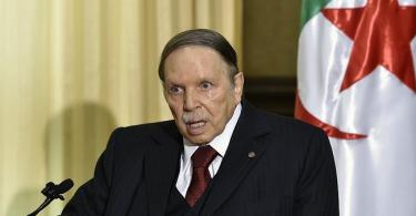 ALGERIA: Students protest over sick President Bouteflika's attempt to run fifth term