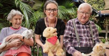 Robotic pets help trigger happy moments in dementia patients, study finds