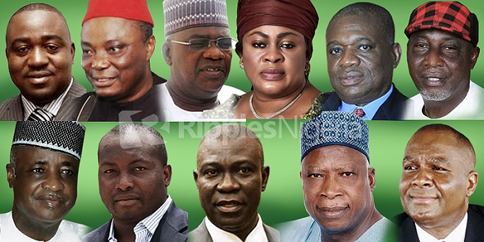 9th Senate: 15 Senators with multi-billion Naira fraud cases taking shelter in National Assembly