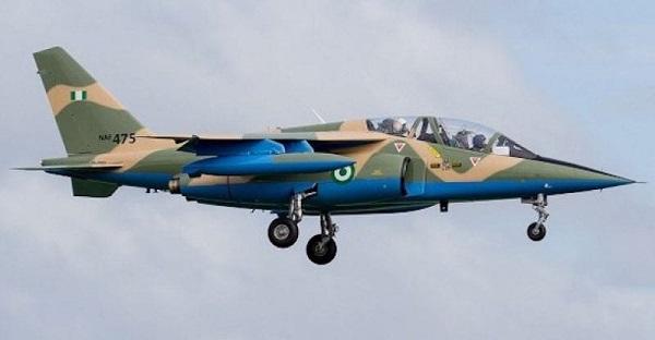 NAF fighter jets destroy Boko Haram logistics base, several fighers killed