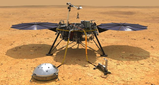 Mars lander picks up what's likely first detected marsquake