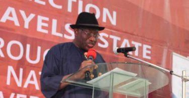 Ex-President Jonathan sends message to those desiring to govern Bayelsa