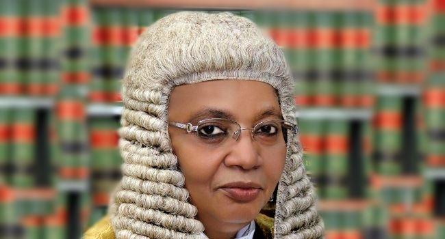 PRESIDENTIAL ELECTION TRIBUNAL: Bulkachuwa tells Atiku, PDP to file application seeking her disqualification
