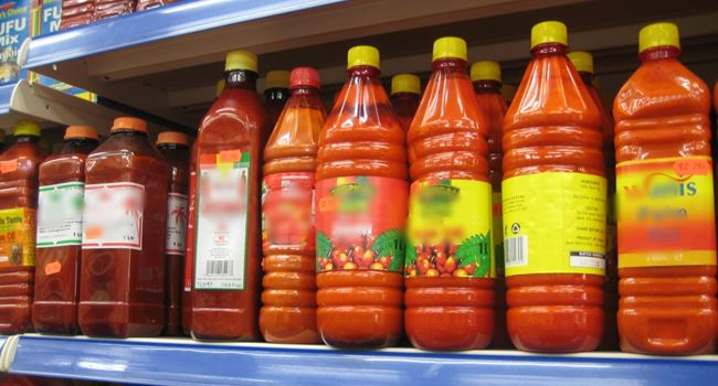 Buhari orders CBN to blacklist companies importing palm oil, 42 other items
