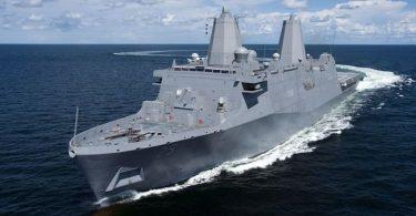 U.S. and Russian Ships in near collision in Philippine sea