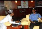 Police reacts to viral photo of IGP Adamu with Sen Abbo, says it's old