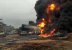 IJEGUN PIPELINE FIRE: 2 dead, 30 vehicles burnt