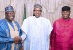 MINISTERIAL LIST: Buhari, NASS leadership, Oshiomhole converge for urgent meeting