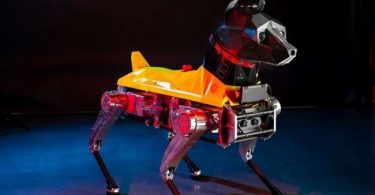 Meet the Astro robot dog which uses AI to respond to commands