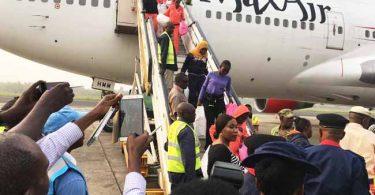 NEMA receives 154 stranded Nigerians from Libya
