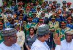 I remain committed to promoting a secure, peaceful, Nigeria – Buhari