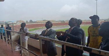 Sunday Dare at Kaduna stadium