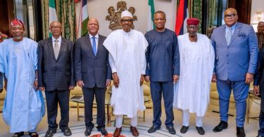 South African special envoys arrive Aso Villa for meeting with Buhari