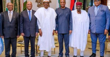 Buhari receives Special Envoy from President Cyril Ramaphosa