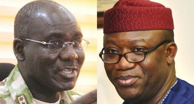 Buratai, Fayemi disagree over security vote