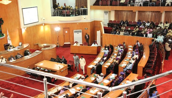 Lagos assembly in session