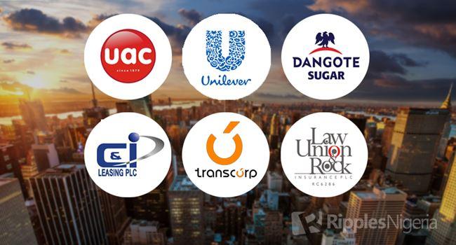Dangote Sugar, Unilever, UACN make Ripples Nigeria watchlist