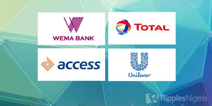 Wema Bank, Total, Access Bank make Ripples Nigeria stock watchlist. See why