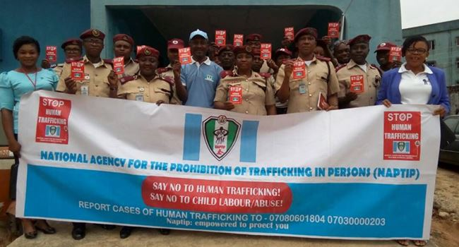 HUMAN TRAFFICKING: NAPTIP arrests 2 suspects, rescues 21 victims