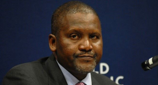 Dangote slides down Forbes richest people's list, loses $2.5bn in 4 weeks