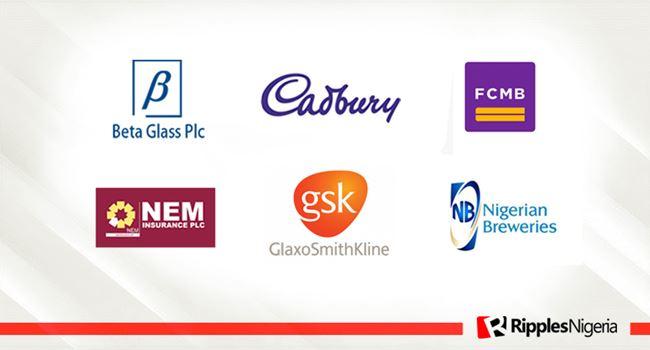 Beta Glass, Cadbury, FCMB top Ripples Nigeria stock watchlist