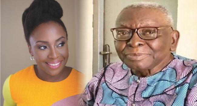Playwright, Chimamanda Adichie loses father