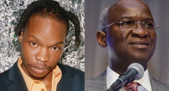 Yes, they look alike, Nigerians laugh as airline says it mistook Naira Marley for Minister of Works, Babatunde Fashola