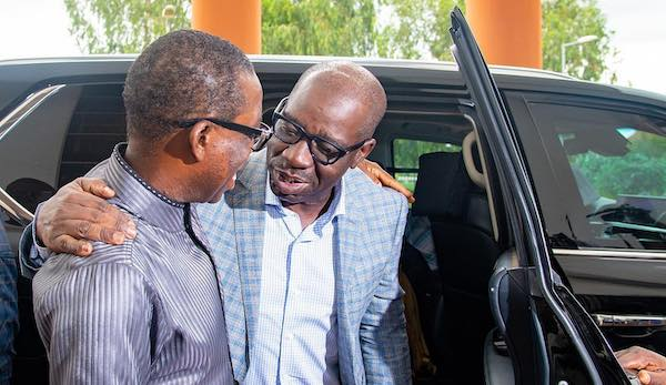 EXCLUSIVE: Gov Okowa meets with Edo PDP chieftains to broker peace ...