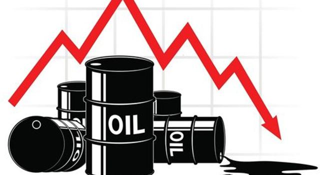 Oil prices fall after U.S. stockpile rise trigger supply worries