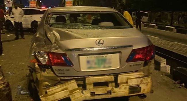 #EndSARS protesters accuse hoodlums of attack at Lekki toll gate