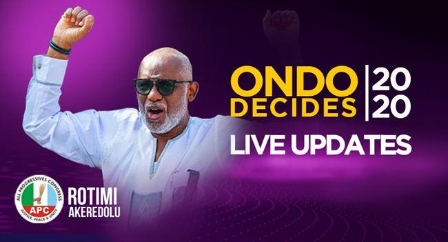 #OndoDecides: Akeredolu returns as governor, beats Jegede, Ajayi
