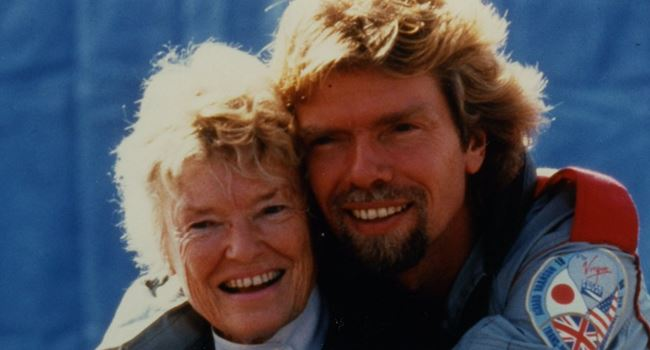 Mother of British billionaire, Richard Branson, dies of Coronavirus