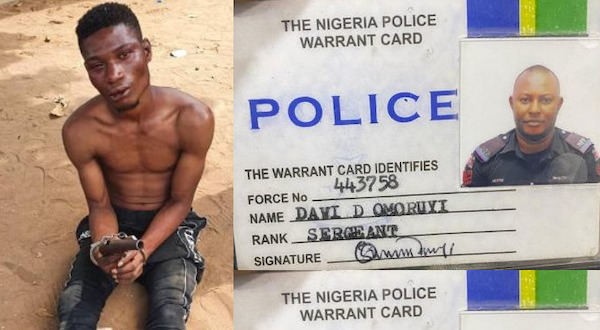 Police arrests suspected armed robber, fake cop in Lagos