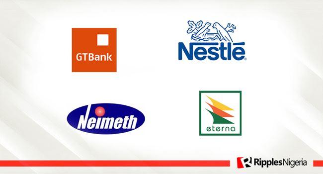 GTBank, Nestle Nigeria, Eterna Oil and Neimeth make Ripples Nigeria stock watchlist