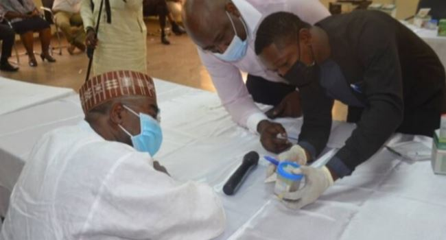 NDLEA boss, Marwa, other top officials take drug integrity test
