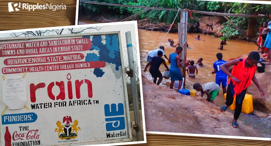 INVESTIGATION... N.3bn down the drain, as Enugu communities suffer from dry taps (Part I)