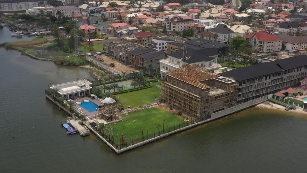 INVESTIGATION...PARKVIEW ESTATE: Exclusive images of how billionaire property developer incurred Lagos govt's anger