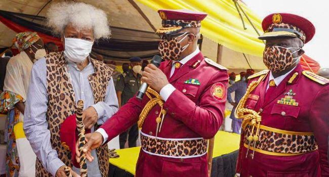 Ogun launches Amotekun, decorates Soyinka as super marshal