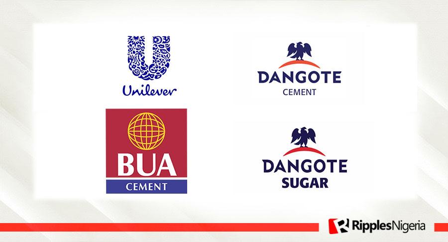 Unilever, BUA Cement, Dangote Cement, Dangote Sugar make Ripples Nigeria stocks-to-watch list