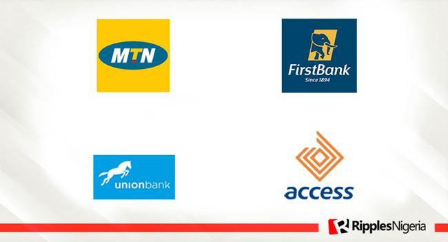 First Bank, MTN Nigeria, Access Bank, Union Bank make Ripples Nigeria stocks-to-watch list