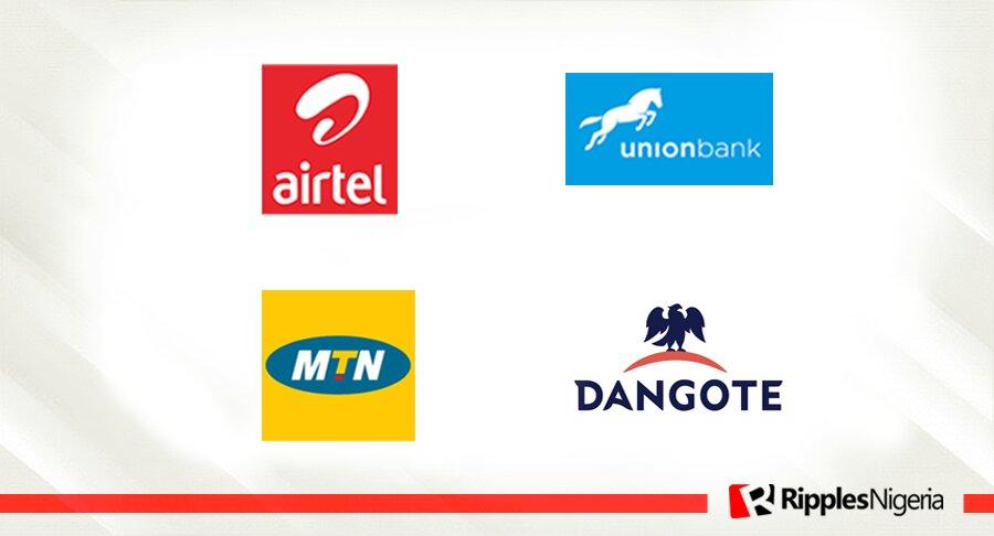 MTN Nigeria, Airtel Nigeria, Union Bank, Dangote Cement make Ripples Nigeria stocks-to-watch list